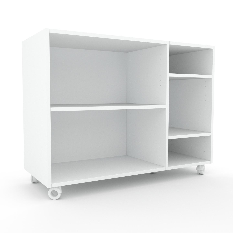 MYCS Étagère bureau - Blanc, design, cabinet de rangement de qualité, pour documents - 116 x 87 x 47 cm, personnalisable