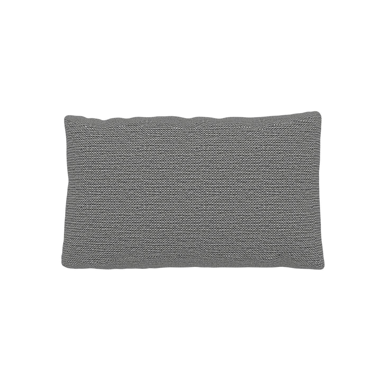 MYCS Coussin Blanc Granite - 30x50 cm - Housse en Tissu grossier. Coussin de canapé moelleux