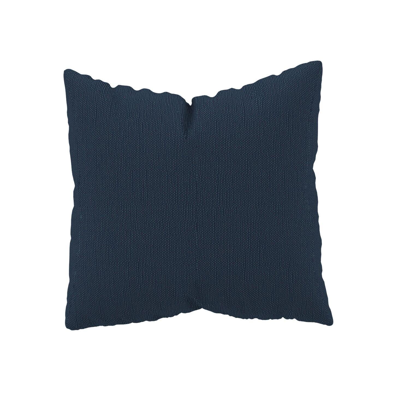 MYCS Coussin Bleu Océan - 50x50 cm - Housse en Tissu Fin. Coussin de canapé moelleux