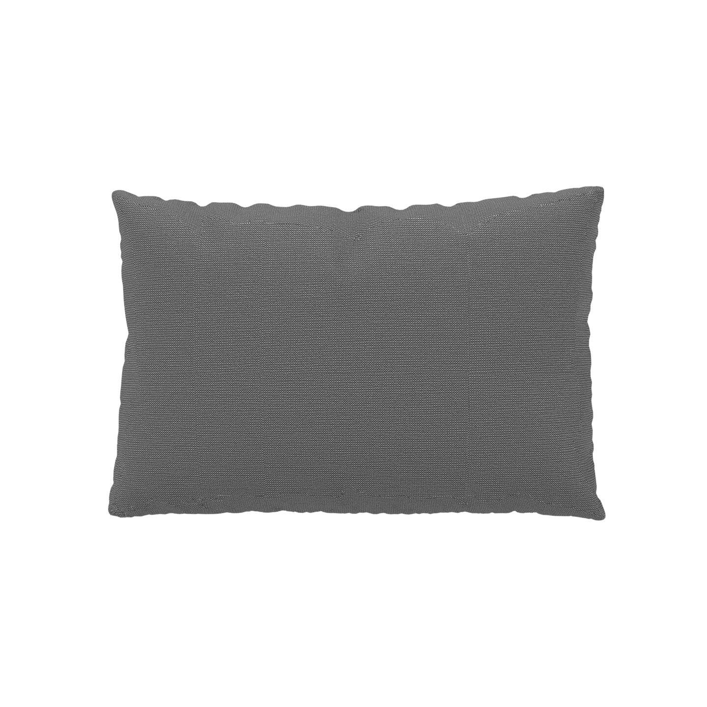 MYCS Coussin Blanc Granite - 40x60 cm - Housse en Tissu grossier. Coussin de canapé moelleux