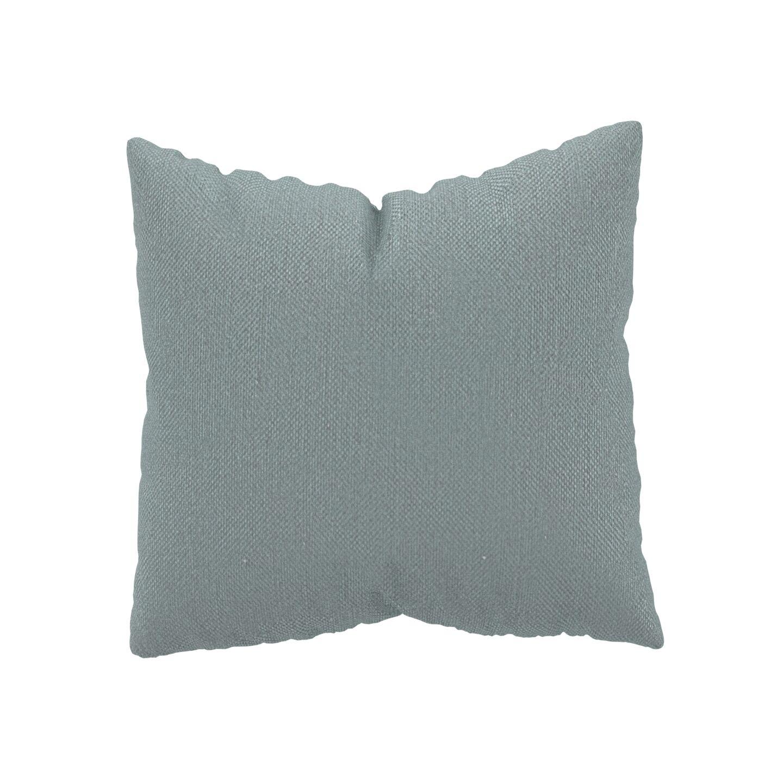 MYCS Coussin Gris Clair - 50x50 cm - Housse en Textile tissé. Coussin de canapé moelleux