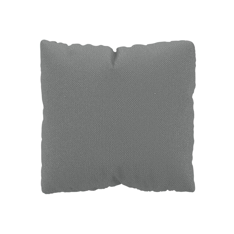 MYCS Coussin Grège - 40x40 cm - Housse en Textile tissé. Coussin de canapé moelleux