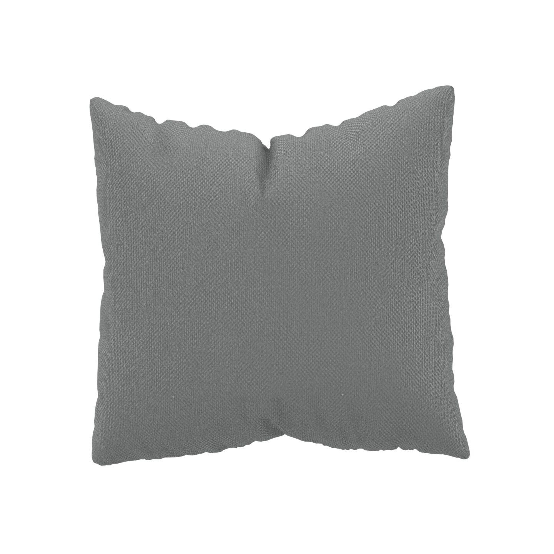 MYCS Coussin Grège - 50x50 cm - Housse en Textile tissé. Coussin de canapé moelleux