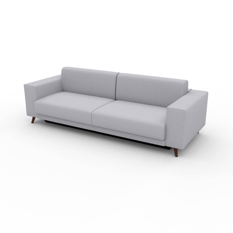 MYCS Canapé 3 places - Gris Clair, modèle épuré, canapé pour trois personnes, sophistiqué - 248 x 75 x 98 cm, modulable