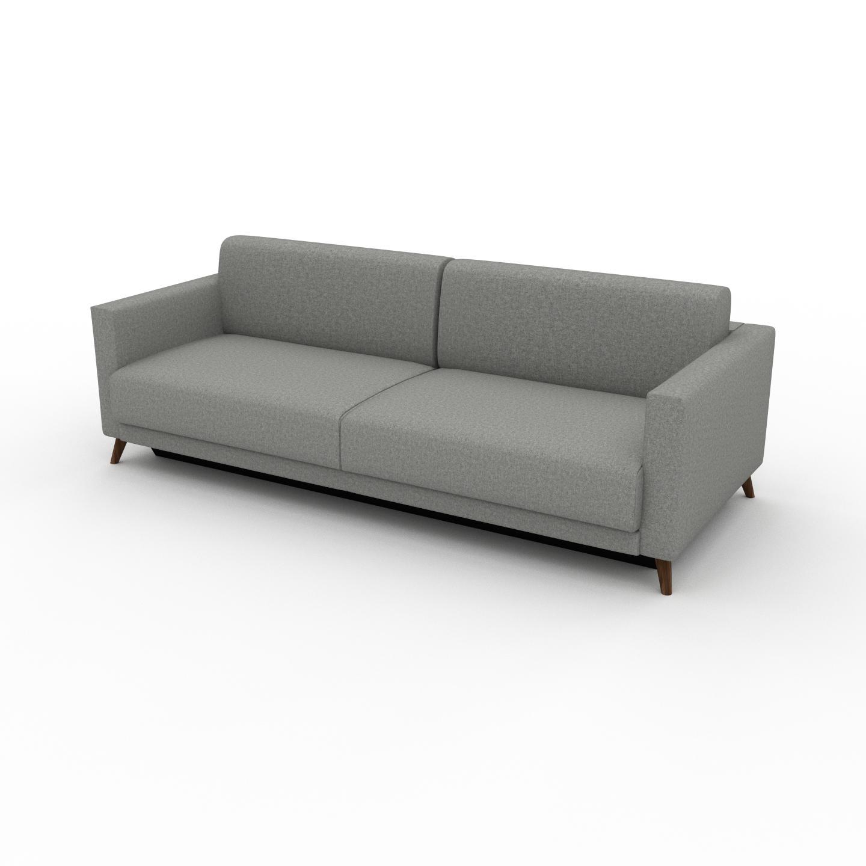 MYCS Canapé 3 places - Gris Clair, modèle épuré, canapé pour trois personnes, sophistiqué - 225 x 75 x 98 cm, modulable