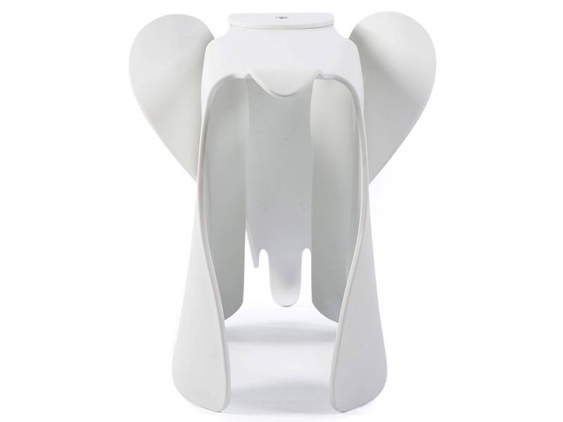 Famous Design Elephant Eames - Blanc