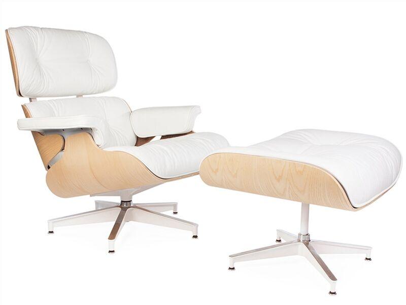 Famous Design Fauteuil Lounge Eames - Noyer clair