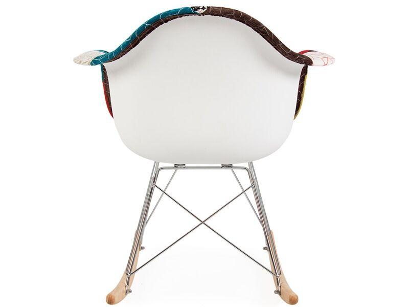 Famous Design Eames Rocking Chair RAR - Patchwork