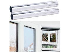 Infactory 2 films de discrétion 40 x 200 cm ''Miroir'' - Protection UV 85%