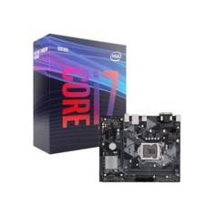 Intel Kit Carte Mère ASUS PRIME H310M-K R2.0 + processeur Intel Core i7 9700