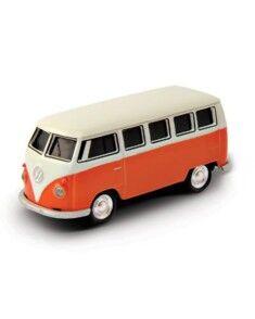 AutoDrive Clé USB aspect Volkswagen Van 1962 orange - 16 Go