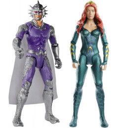 Mattel 2 figurines Aquaman - 30 cm