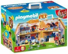 Playmobil Clinique vétérinaire transportable