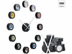 Infactory Horloge murale personnalisable 12 photos