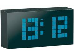 Infactory Réveil à LED et thermomètre