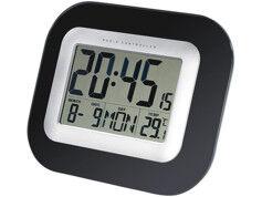 Infactory Horloge digitale radiopilotée à grand affichage
