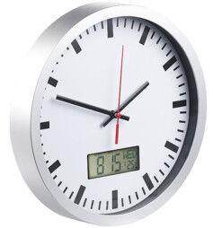 St. Leonhard Horloge analogique avec affichage digital de la date et de la température