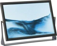 Infactory Tableau de sable à vagues ''Blue Ocean Maxi''