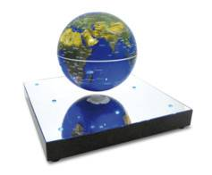 Magnetic Land Mappemonde magnétique flottante