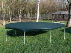 Royal Gardineer Bâche ronde pour piscine ou trampoline - Ø 4,6 m