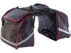 XCase Sacoche vélo double pour porte-bagages