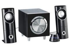 Auvisio Système audio actif 2.1 multimédia MSX-220