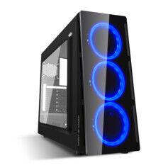 Spirit of Gamer Boîtier pour PC Deathmatch 5 Blue
