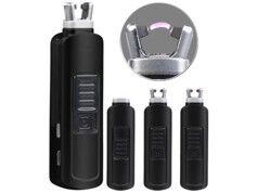 Pearl Mini briquet tige USB à arc électrique - Noir