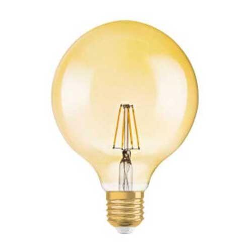 Osram Ampoule LED filament E27 230V 4W(=34W) 380lm 2400°K globe or édition 1906 - Osram