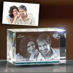 3d creation  3d creation Bloc de verre gravure photo 3D personnalisé forme... par LeGuide.com Publicité