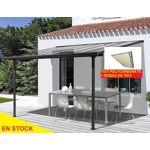 Pergola 3x3m avec rideaux de toit Pratique le rideau de toit pour se... par LeGuide.com Publicité