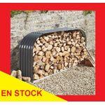 Abri buches, bucher métal 2,12 m x 1,11 m Bûcher métallique: Protégez... par LeGuide.com Publicité