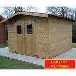 Abri de jardin THT 10,33 m2  THERMA  Abri de jardin en bois THT 10,33... par LeGuide.com Publicité