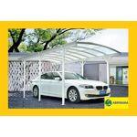 Carport aluminium 5,76x3m blanc pour grand véhicule Carport en aluminiumet... par LeGuide.com Publicité