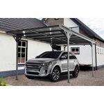 Carport aluminium 5,03x3,05m monopente Protégez votre véhicule du soleil... par LeGuide.com Publicité