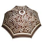 Parasol Parapluie long Femme Fovea Marron Marron - Parapluie coupe vent... par LeGuide.com Publicité