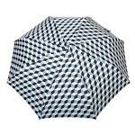 Parasol Parapluie pliant O/F Automatique Cubic Ciel et Noir Bleu - Parapluie... par LeGuide.com Publicité