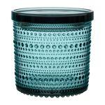 iittala  Iittala Bocal Kastehelmi H 11.6cm - bleue mer/H: 11,6cm x Ø 11,4cm/couvercle... par LeGuide.com Publicité