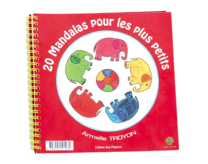 ECODIS Cahier de 20 Mandalas pour les Plus Petits - Dès 4 ans