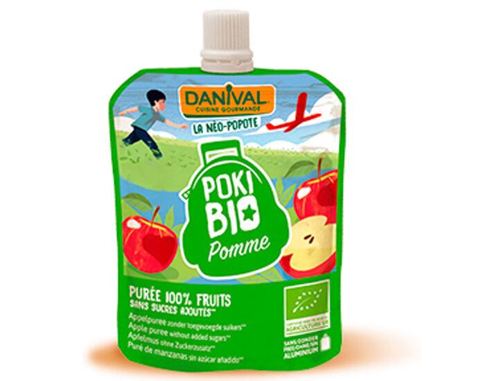 DANIVAL Poki Bio - Gourde Pomme - 90 g