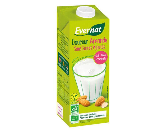 EVERNAT Boisson Végétale Douceur Amande - 1L