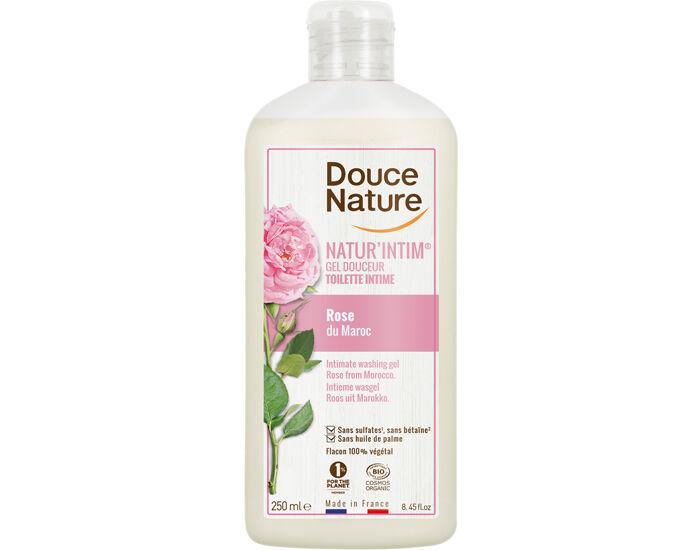 DOUCE NATURE Gel Toilette Intime Douceur Rose du Maroc 250 ml
