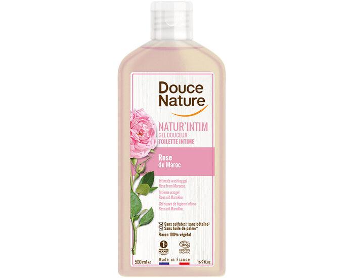 DOUCE NATURE Gel Toilette Intime Douceur Rose du Maroc 500 ml
