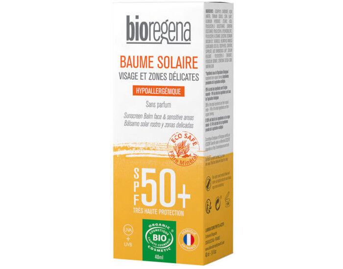 BIOREGENA Baume Solaire Visage et Zones Délicates SPF50+ - 40 ml