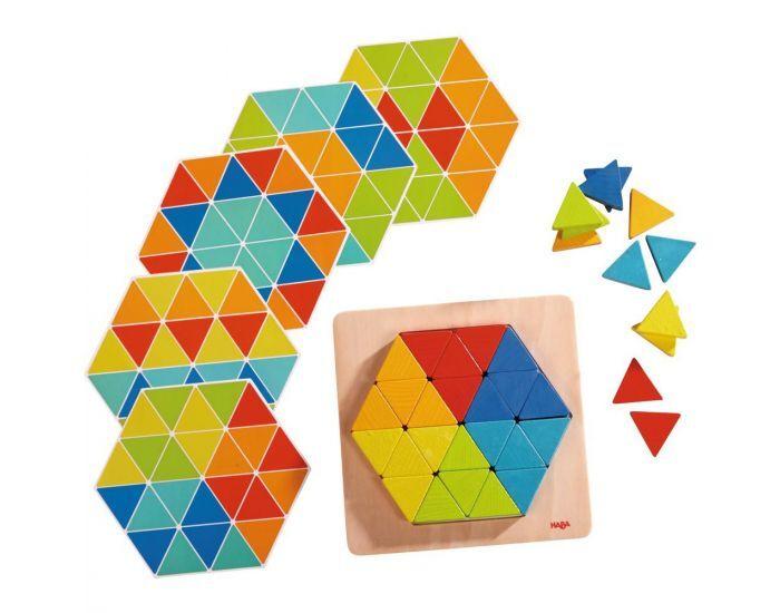 HABA Assemblage triangles magiques - Dès 2 ans