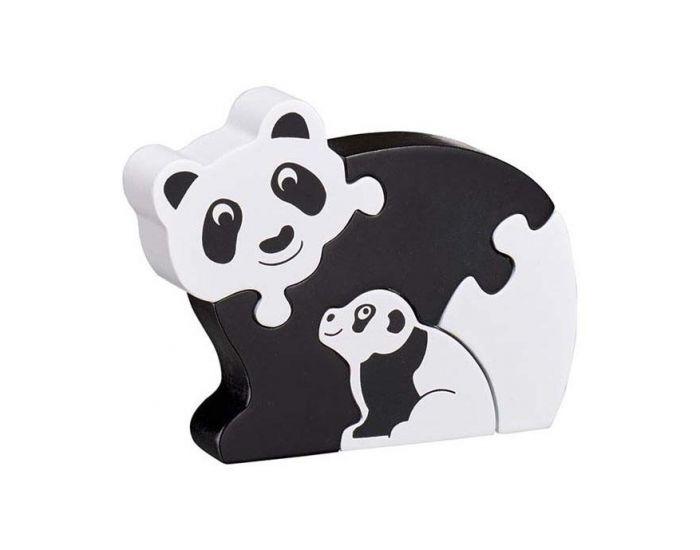 LANKA KADE Puzzle en bois Panda et son bébé - Dès 10 mois