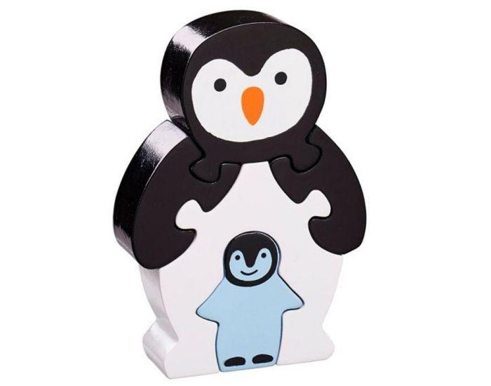 LANKA KADE Puzzle en Bois Pingouin et son Bébé - Dès 10 mois