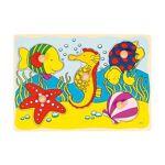 goki  GOKI Puzzle Animaux Marins - Dès 1 an Le Puzzle en bois Animaux marins... par LeGuide.com Publicité