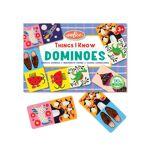eeboo  EEBOO Petit Domino - Objets Connus - Dès 3 ans Emportez des dominos... par LeGuide.com Publicité