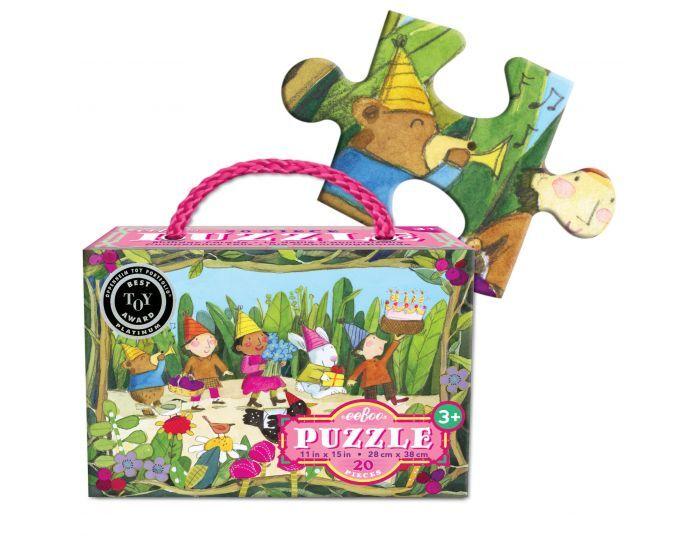EEBOO Puzzle 20 Pièces - Parade d'Anniversaire - Dès 3 ans